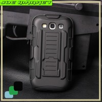 Samsung S3 - Future Armor Hardcase With Belt Holster Stand Casing Ca