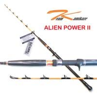 Team Kamikaze Alien Power II 200 OH Jigging Rod - Fuji SIC