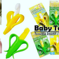Sikat Gigi Baby (Baby Teether) Sweet Corn & Baby Banana