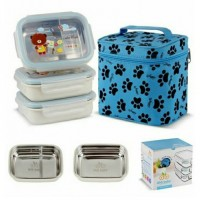 Gig Baby Rectangle Stainless Steel Lunch Box