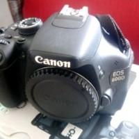 CANON 600D + Lensa KIT EFS 18-55 IS II Lengkap box Mantappp