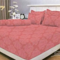 Bedcover Polos Embos Vallery 180x200 Salem tinggi 30 King size