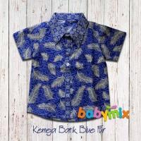 Babymix - Guide Kemeja Baju Batik Anak Etnica - Biru Laut