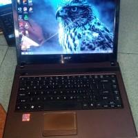 Jual Laptop Acer Aspire 4738Z Intel Core i5 Ram 3GB Murah Joss