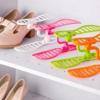SALE ! Rak Sepatu Susun Portable Shoes Rack murah berkualitas