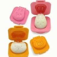 SALE ! Cetakan Telur / Egg Mold (Bear & Rabbit) murah berkualitas