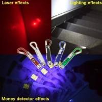 SALE ! Senter Laser 3in1 UV (money detector) + Gantungan murah