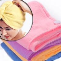 SALE ! Magic Towel Hair Wrap / Handuk Keramas murah berkualitas