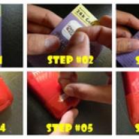 SALE ! Stiker Logam Anti Radiasi Elektromagnetik murah berkualitas