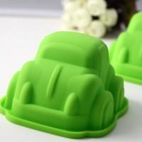 SALE ! Cetakan Puding / Kue / Coklat Silicone Bentuk Mobil / Car