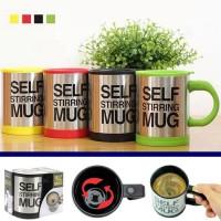 SALE ! Gelas Aduk Otomatis Self Stirring Mug murah berkualitas