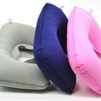 SALE ! Travel Pillow Bantal Leher Tiup murah berkualitas