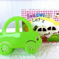 SALE ! Sandwich Mold CAR DIY / Cetakan Roti Mobil murah berkualitas