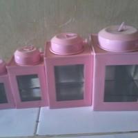 Kaleng Krupuk Mini 1 Set Murah