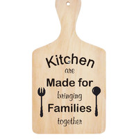Wall Stiker Talenan Kitchen Family Quotes Cafe Cutting Sticker Decor