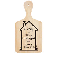 Wall Stiker Talenan Family Life Quotes Kata Cutting Sticker Dinding