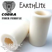 Ferrule Cobra Earthlite - Fiber White - Billiard Cue Stick Biliar Stik