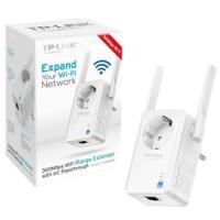 TP-LINK WA860RE 300Mbps WiFi Range Extender dengan AC passthrough