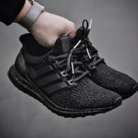 "Adidas Ultra Boost 3.0 PK Triple Black"""