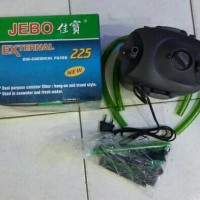 Jebo 225 canister filter full set lengkap / exsternal filter jebo 225