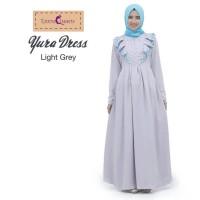Long Dress Muslim Yura Light Grey
