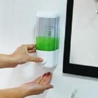 Dispenser sabun manual hand soap tempat cair cuci tangan mandi Toilet