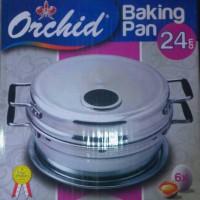 Baking pan orchid 24 / 6 telur