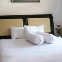 Sprei Putih Polos Homemade (180x200) dan (160x200) full katun hotel