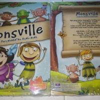 Monsville Kisah Persahabatan anak-anak Bilingual book Cerita anak BIP