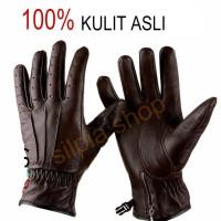 sarung tangan kulit asli / sarung tangan motor .selalu (ready