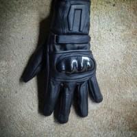 sarung tangan kulit asli / sarung tangan motor selalu (ready