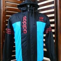 Jaket Parasut Adidas/ Jumper/ Running/ Hoodie/ Jaket Pria/ Sweater