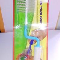 Original Sikat Botol Susu Bayi Set 2 Sponge - Zippy Ok Baby OK-501
