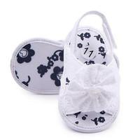 Sepatu prewalker bayi/import #sandal renda (white)