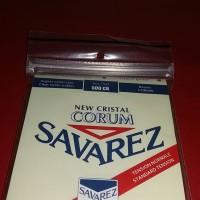 senar gitar nylon savarez type new cristal corum for profesional