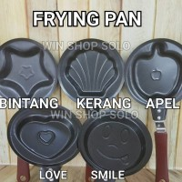 FRYING PAN MINI / TEFLON KARAKTER / WAJAN LUCU