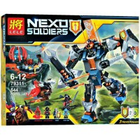 lele 79311 block games black knights mexh nexo knight