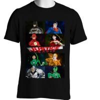 Kaos DC Comics Justice Leauge Superman Batman Wonder Woman