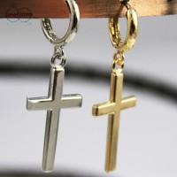 Anting Salib #004 / Model Tindik / Tura / Earrings
