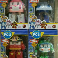 Mainan Anak Transformable Robocar POLI set isi 4 MURAH