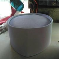 peci songkok putih biasa di pake untuk akad nikah