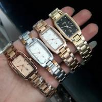 Jam Tangan Wanita Guess Rantai Stainlis Diamond_4 pilihan warna