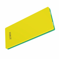 Robot RT9100 2 USB Ports 9000mAh Power Bank Yellow+Green
