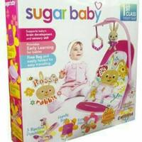 sugar baby bouncer/playmate/kasur bayi/mainan gantung kursi/kado/baju