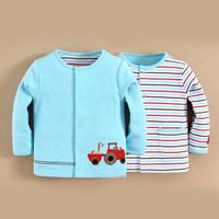MOM n BAB Reversible Jacket - Tractor | Jaket Bayi/ Anak Diskon