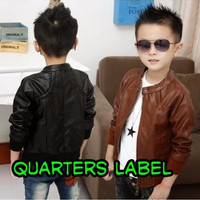 JACKET SEMI KULIT KIDS