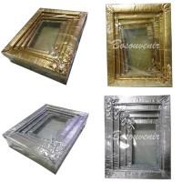 Box seserahan/ kotak hantaran GOLD & Silver