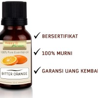 Happy Green Bitter Orange Essential Oil (10 ml) - Minyak Jeruk Pahit