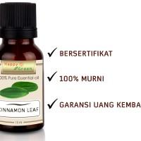 Happy Green Cinnamon Leaf Essential Oil (10 ml) Minyak Daun Kayu Manis