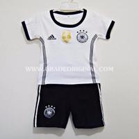 Setelan Baju Jersey Bola Anak Negara Jerman / Germany Home Euro 2016